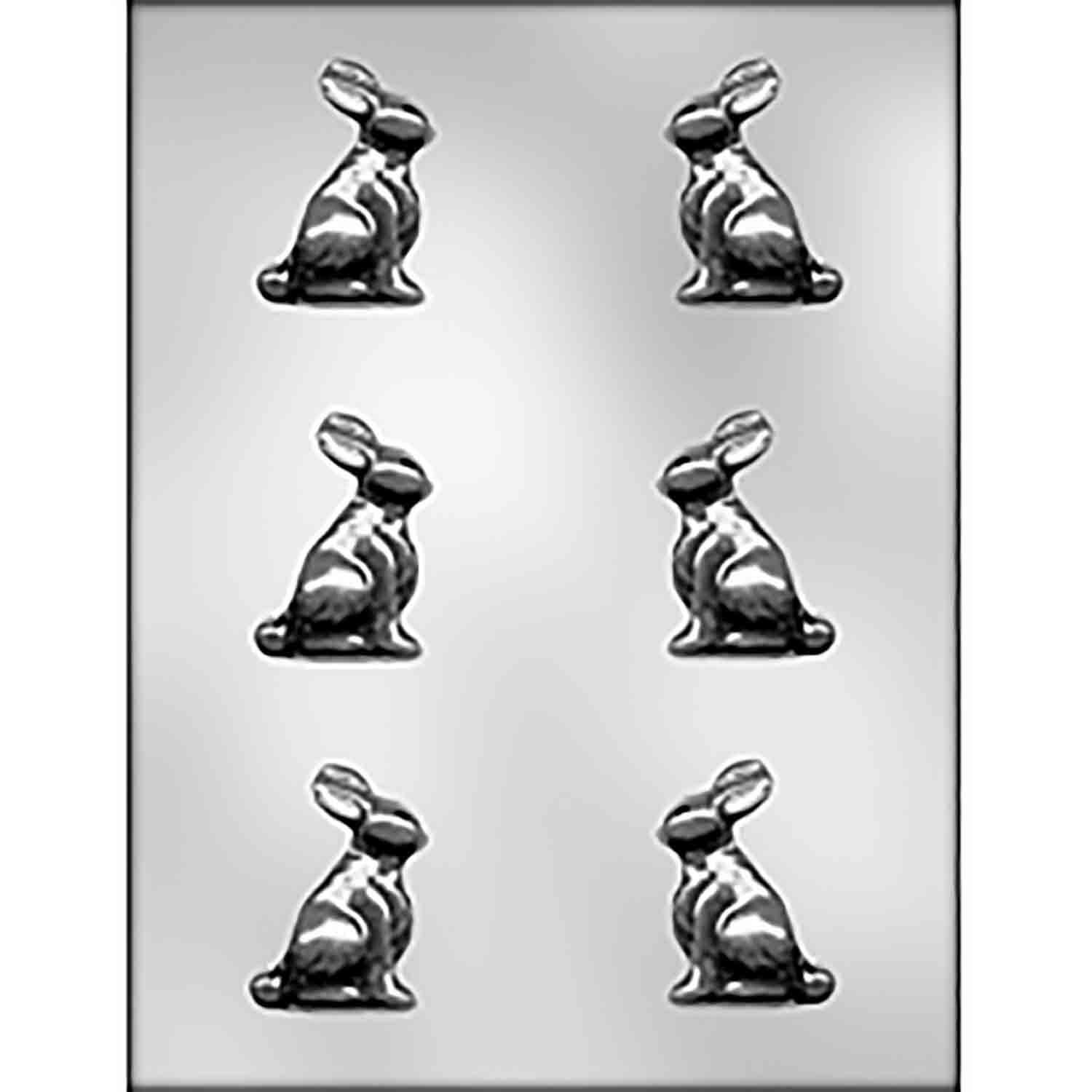 3D Bunny Candy Mold