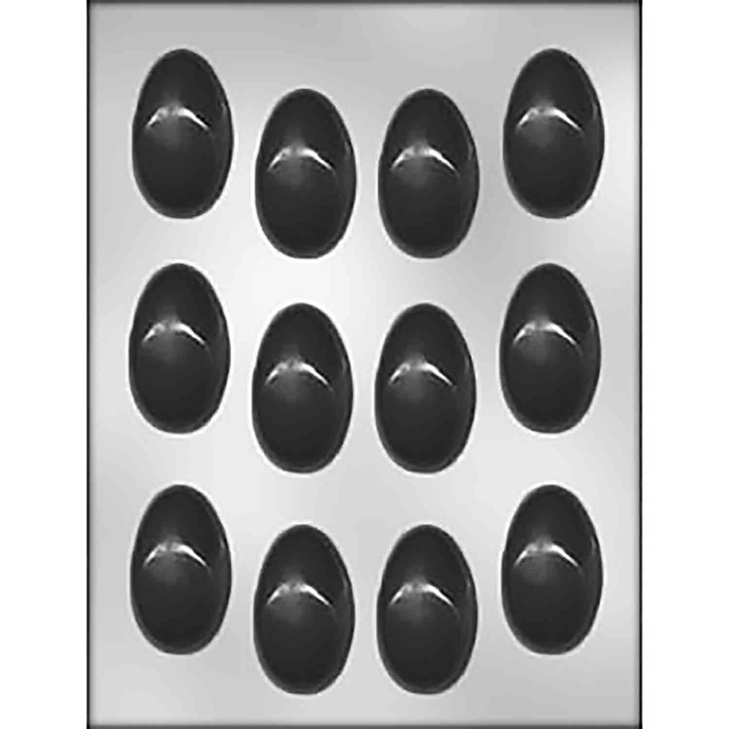 "Egg 2"" Chocolate Candy Mold"