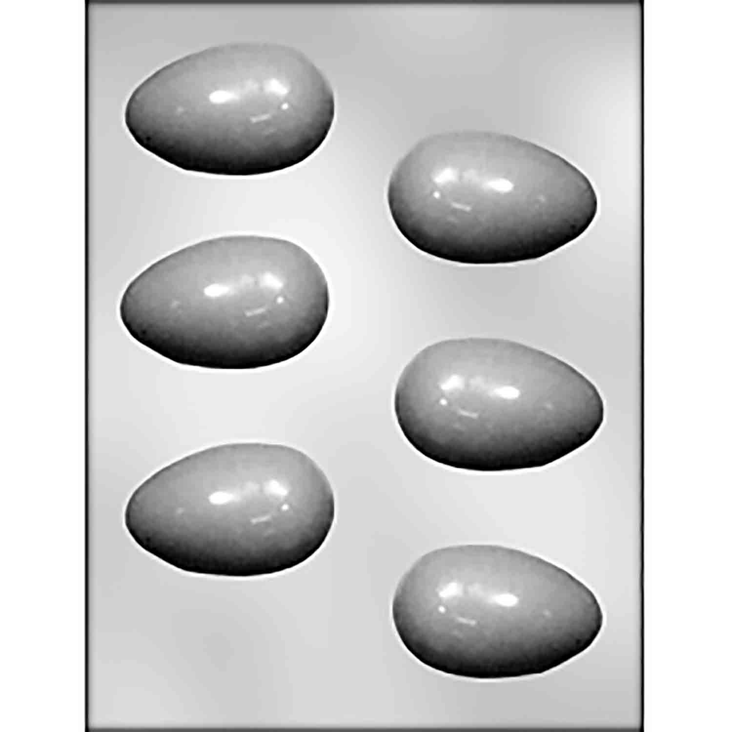 Actual Size Hen Egg Chocolate Candy Mold