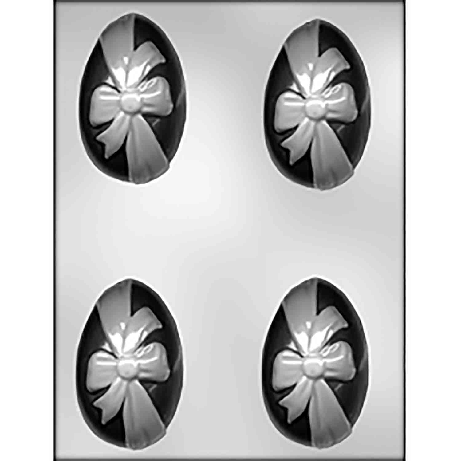 Egg with Ribbon Chocolate Candy Mold