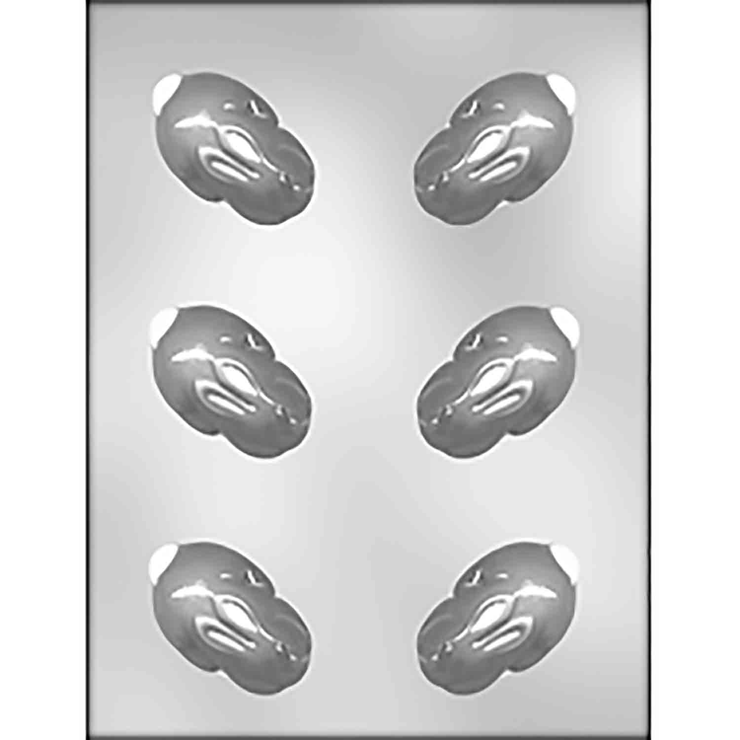 3D Huddled Bunny Chocolate Candy Mold
