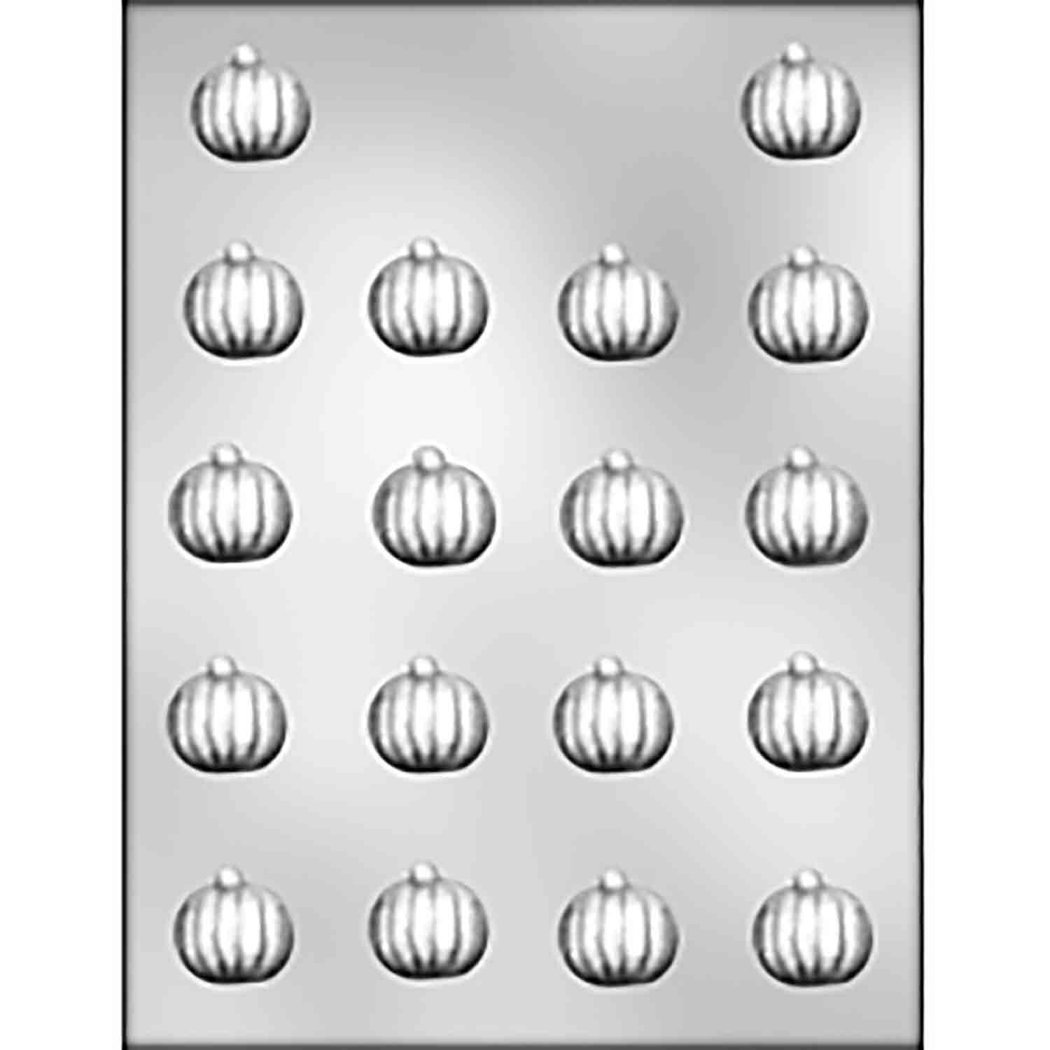 Pumpkin Chocolate Candy Mold