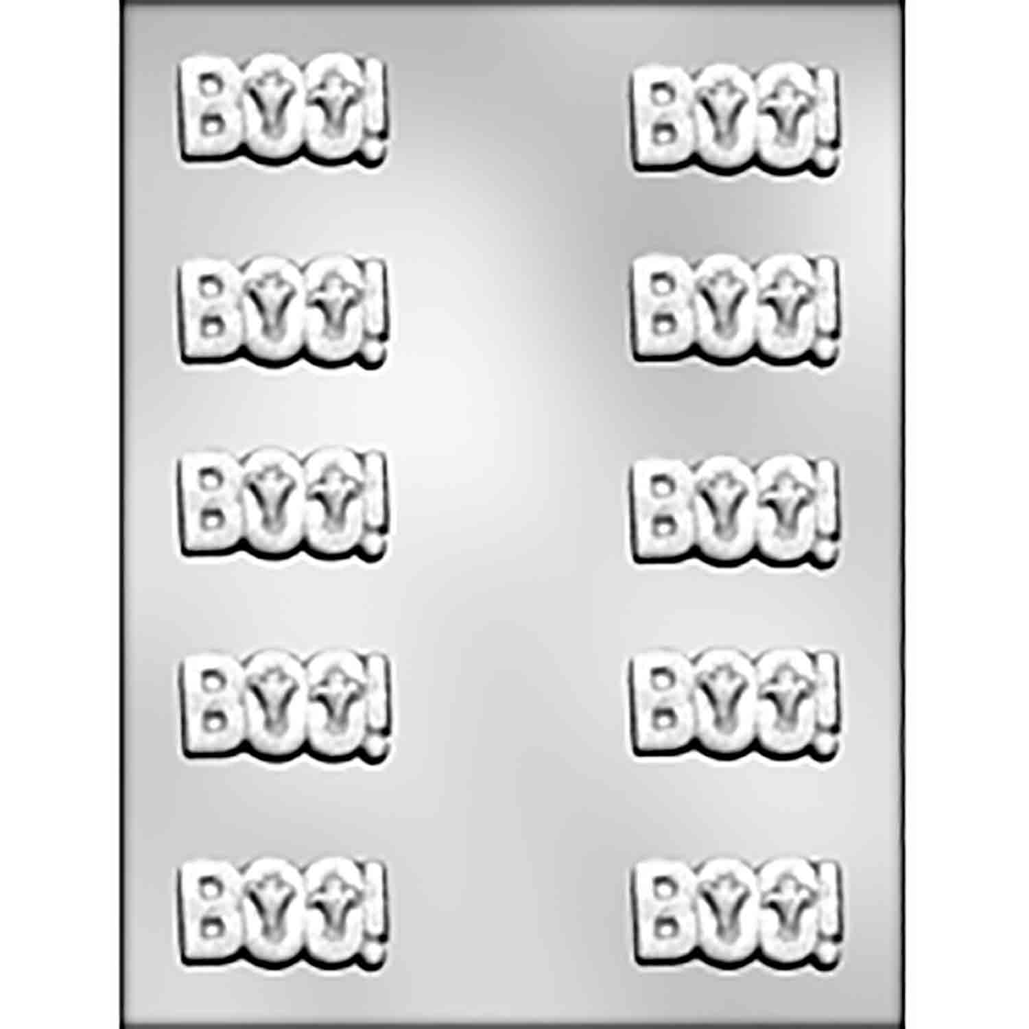 BOO! Chocolate Candy Mold