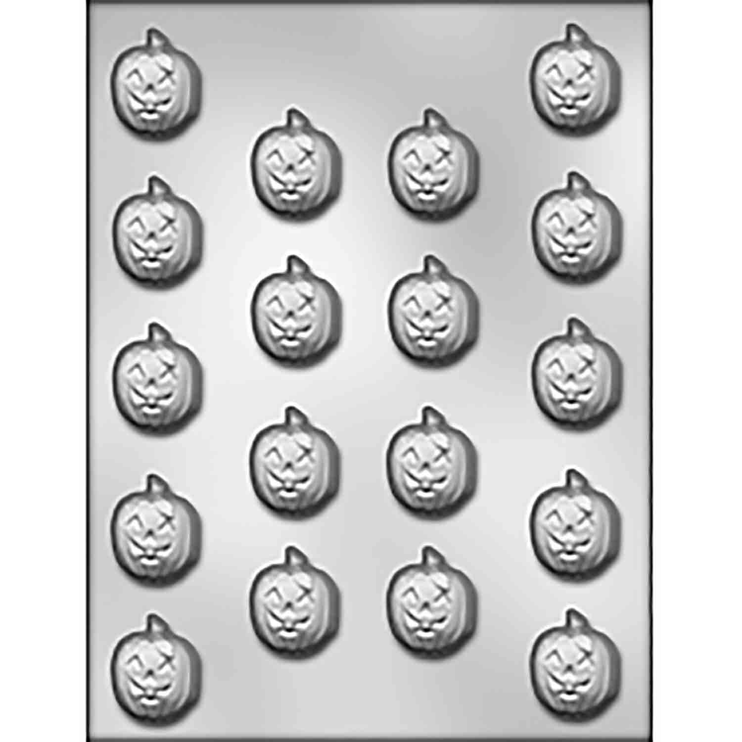 Jack-O-Lantern Chocolate Candy Mold
