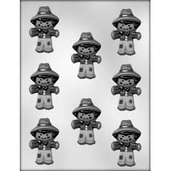 Cute Scarecrow Chocolate Candy Mold