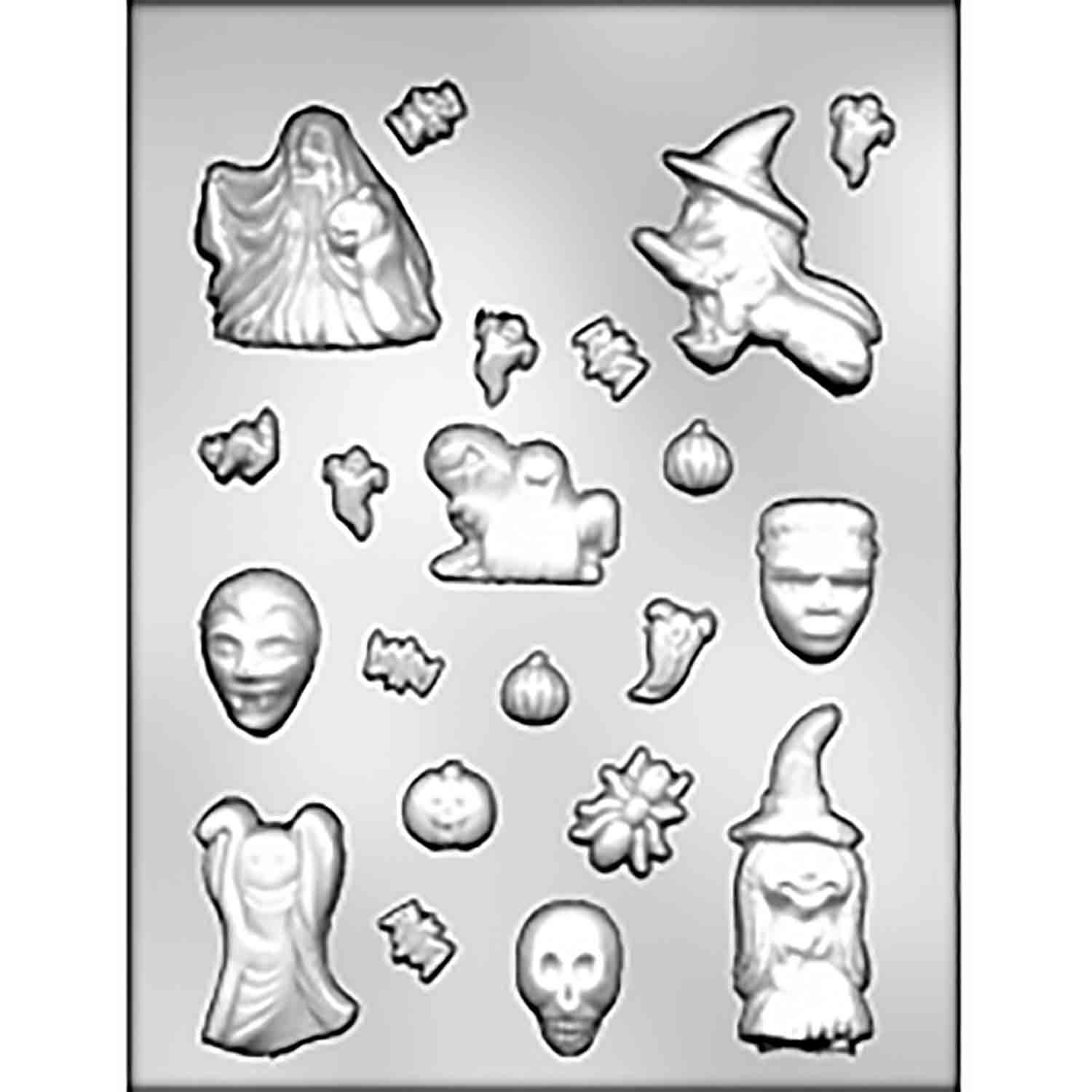 Haunted House Accessories Chocolate Candy Mold
