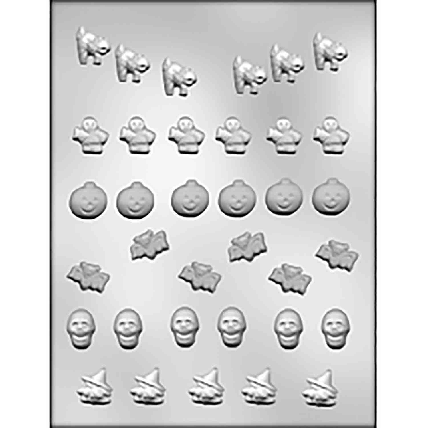 Halloween Lay-On Chocolate Candy Mold