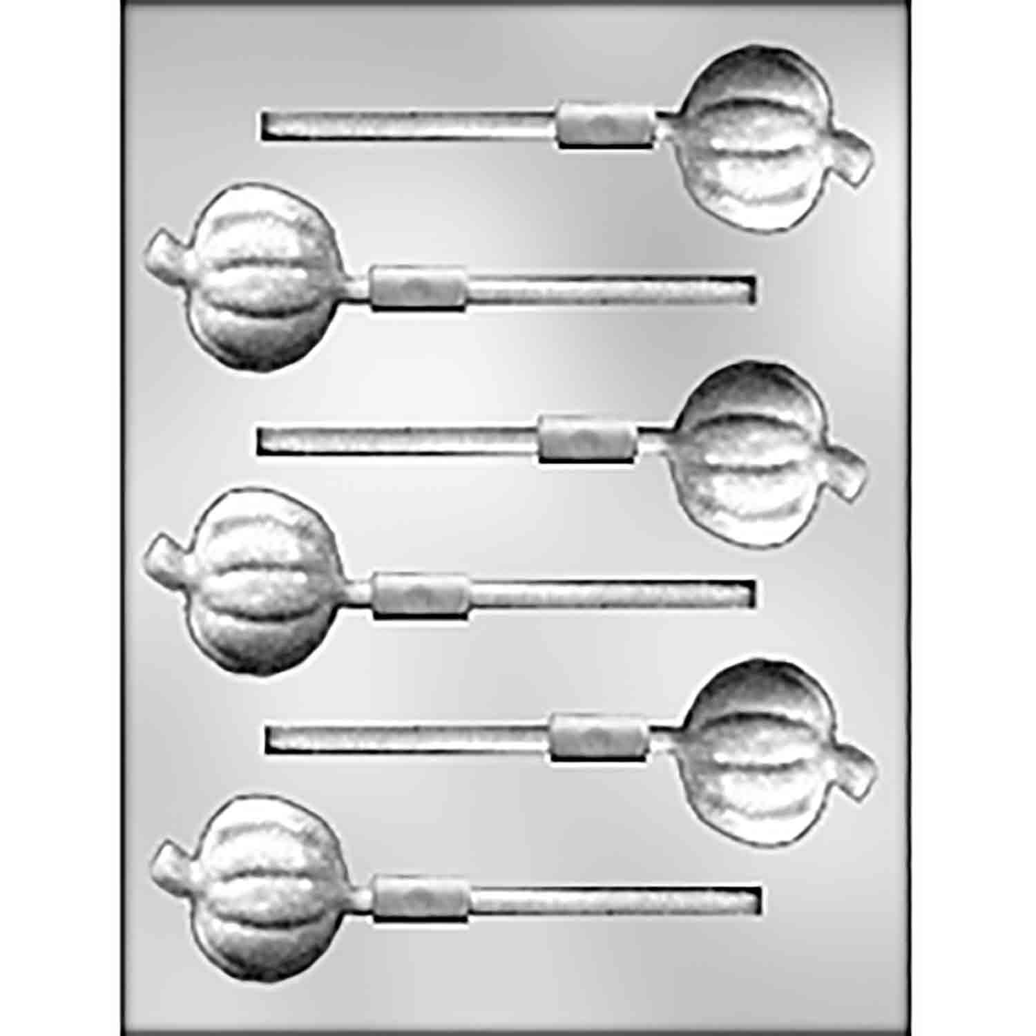 Pumpkin Sucker Chocolate Candy Mold