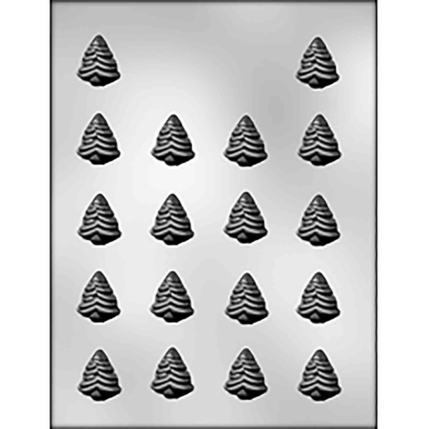Evergreen Trees Chocolate Candy Mold