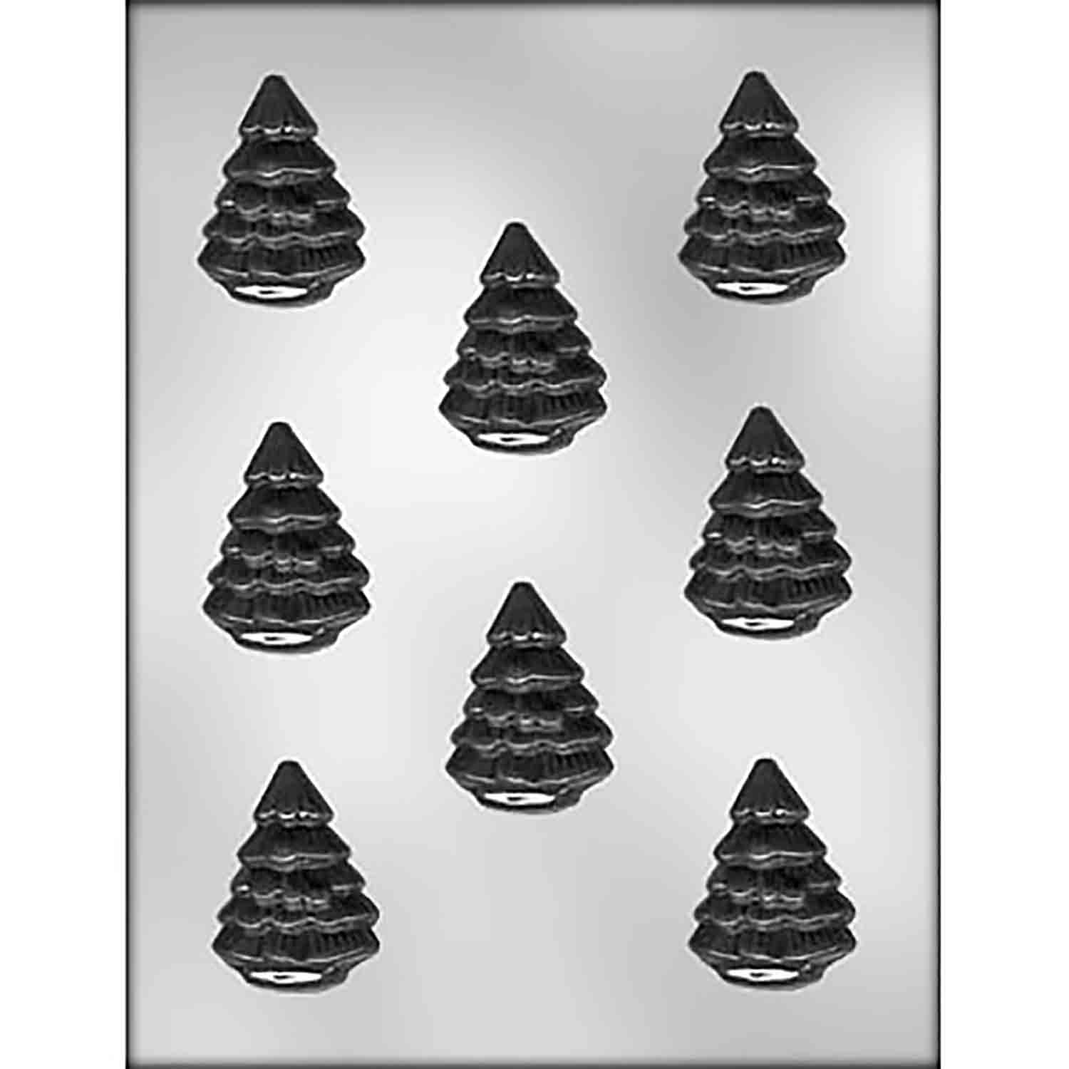 Pine Tree Chocolate Candy Mold