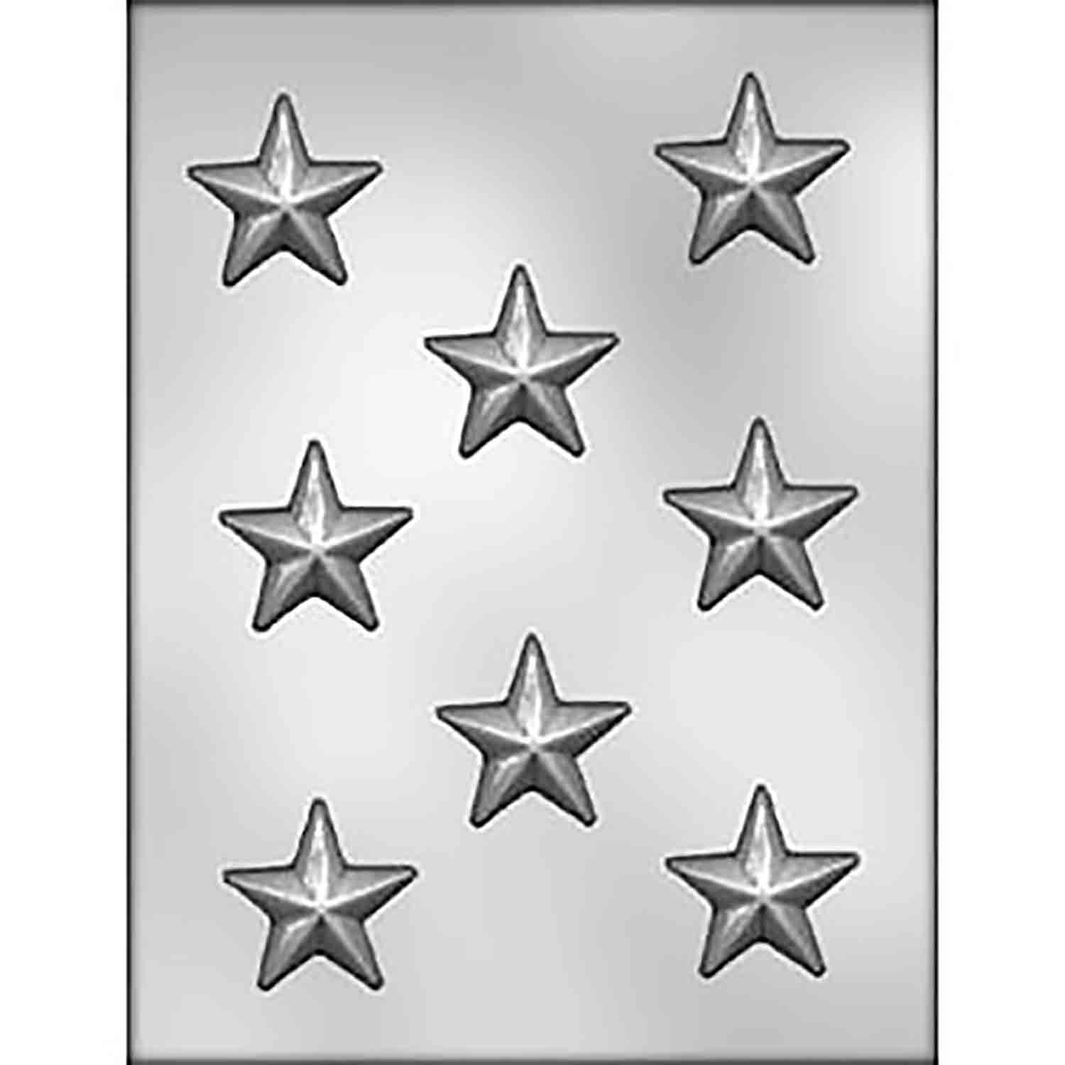 Stars Chocolate Candy Mold