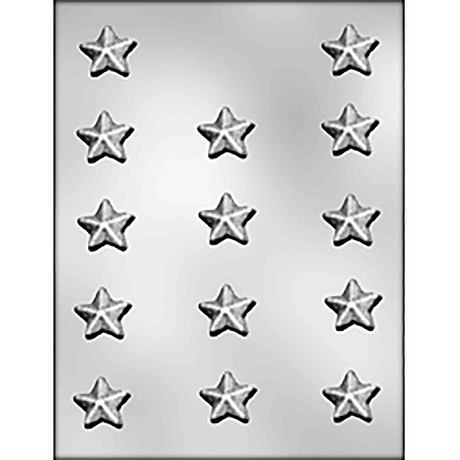 Pointed Top Star Chocolate Candy Mold