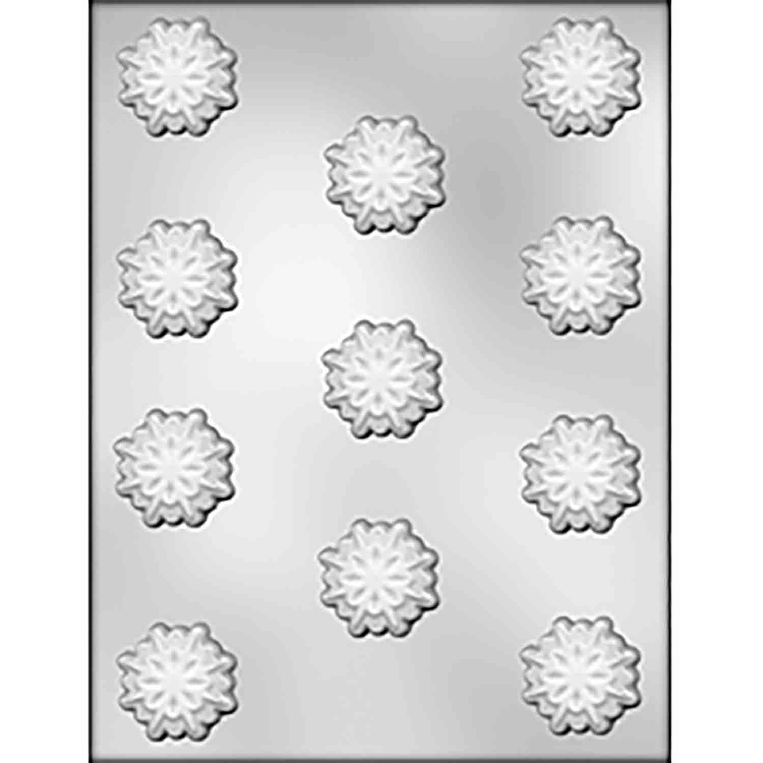 8 Point Snowflake Chocolate Candy Mold