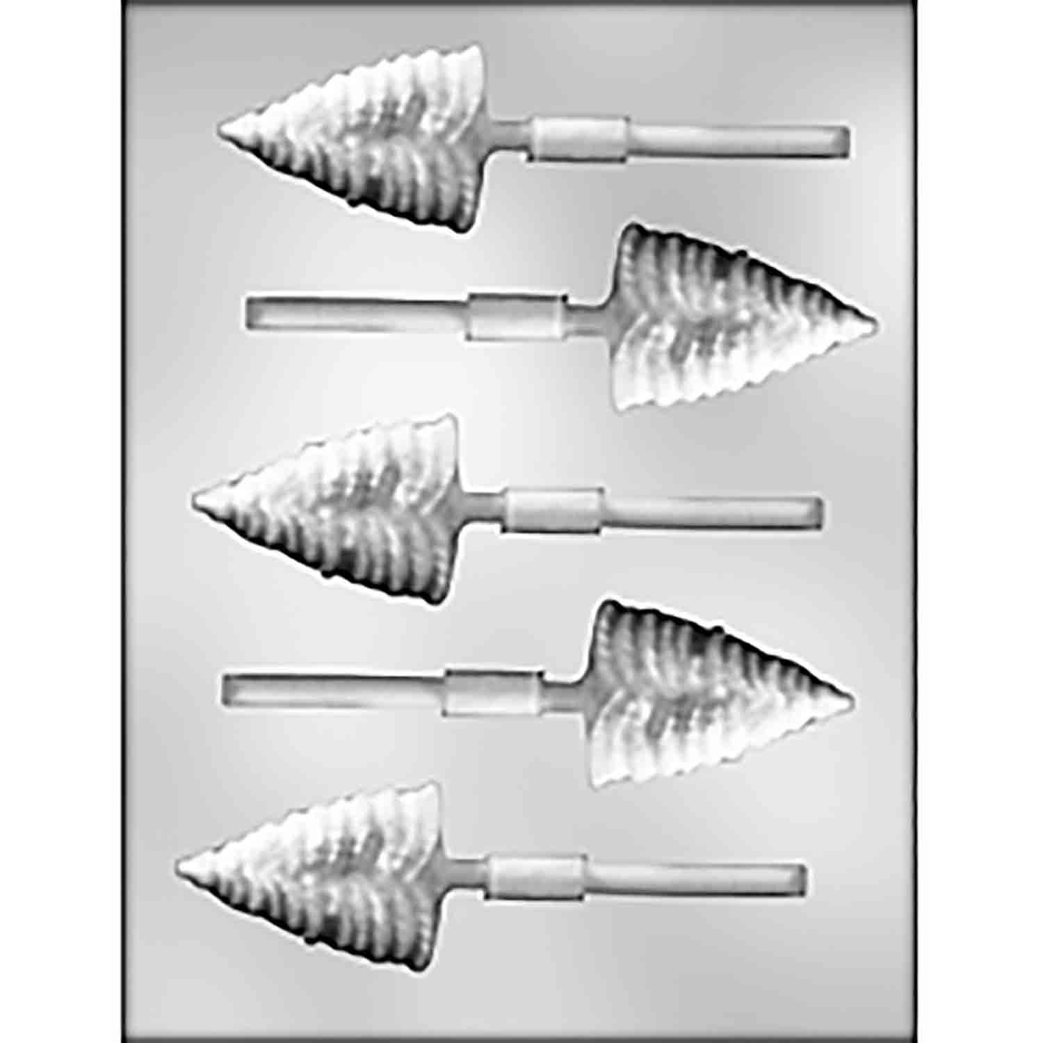 Pine Tree Sucker Chocolate Candy Mold