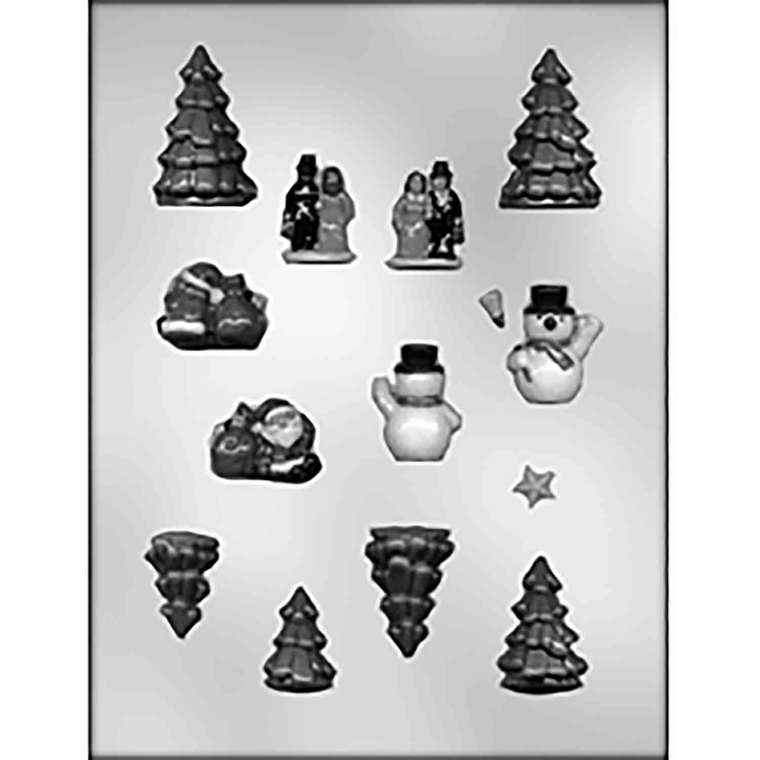Mini Village Accessories Chocolate Candy Mold