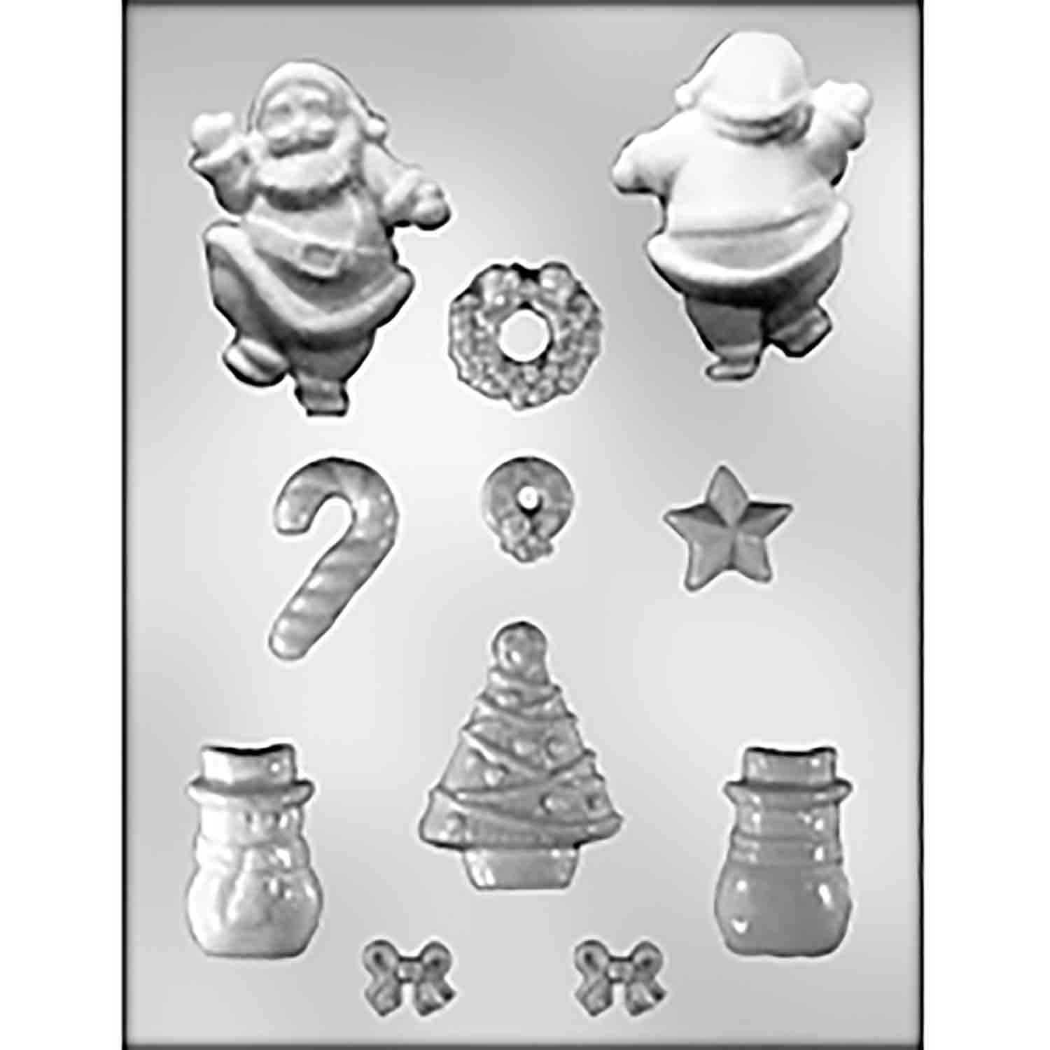 Gingerbread House Christmas Access. Candy Mold