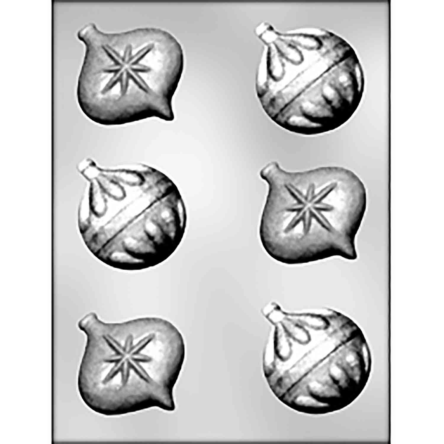Ornaments Chocolate Candy Mold