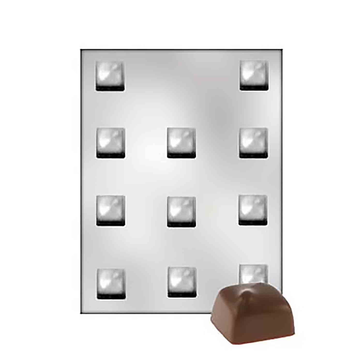 Squares Chocolate Candy Mold