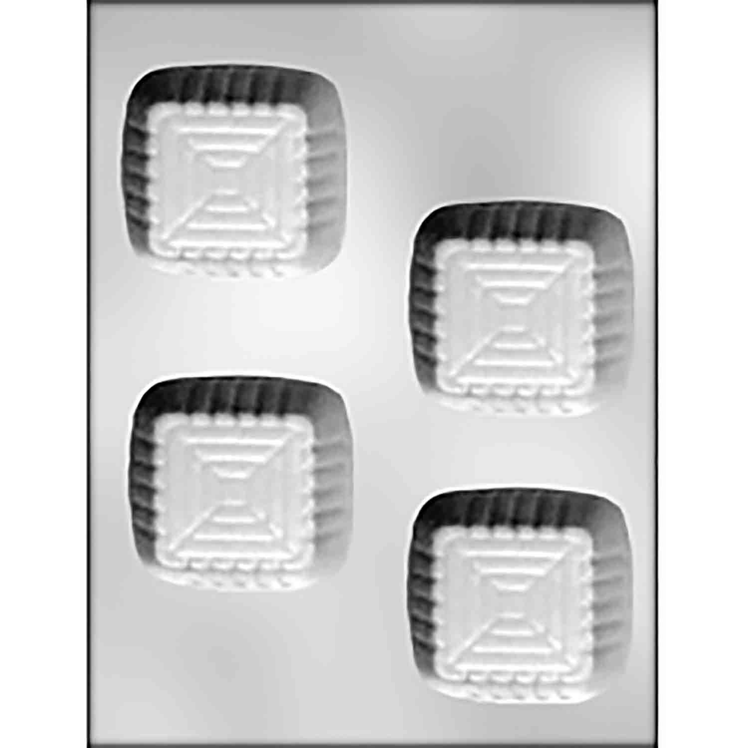 Square Cup Chocolate Candy Mold