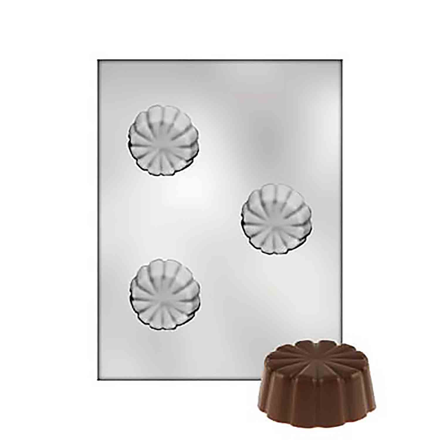 Ice Cream Shell/Dessert Dish Chocolate Candy Mold