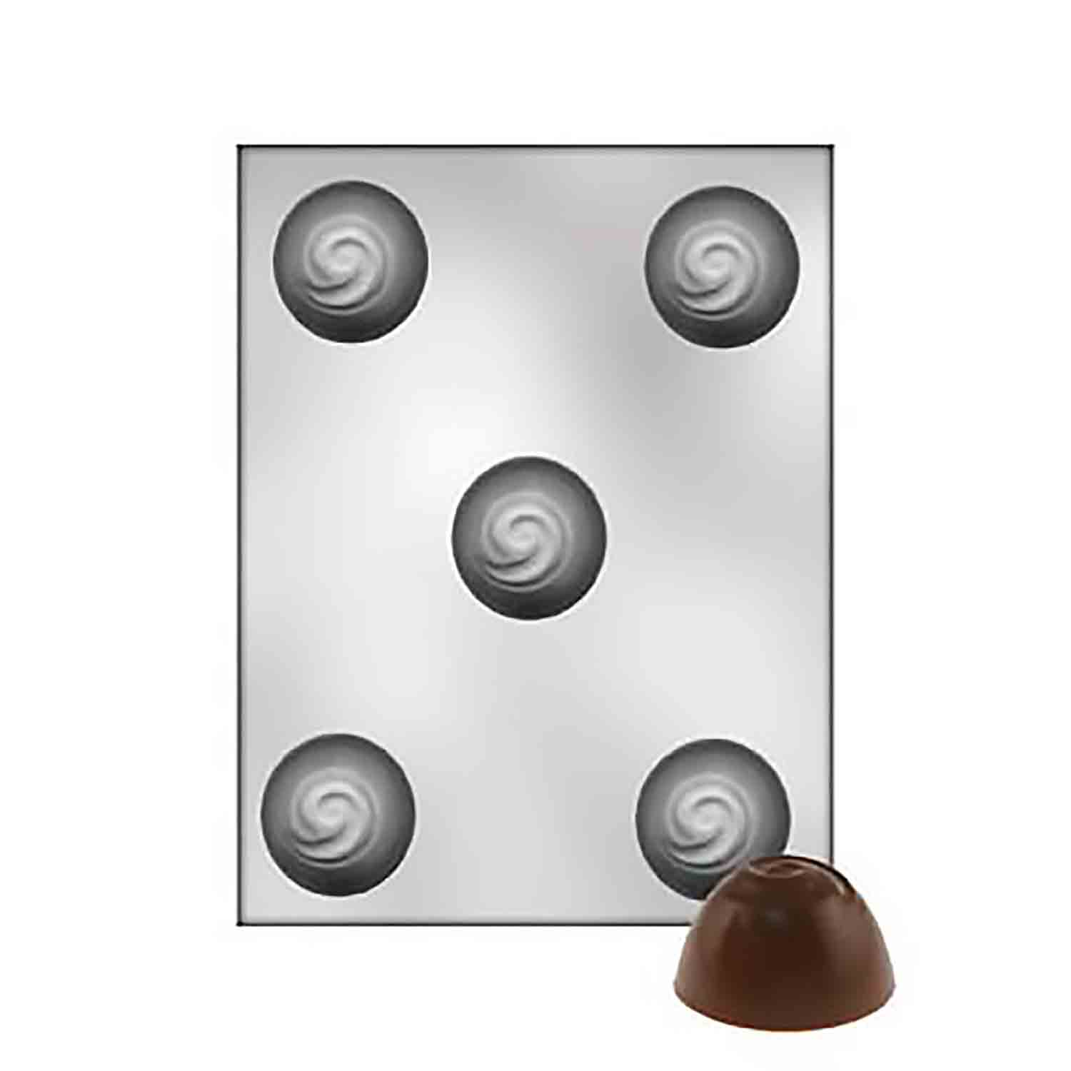 "1 3/4"" Truffle Chocolate Candy Mold"