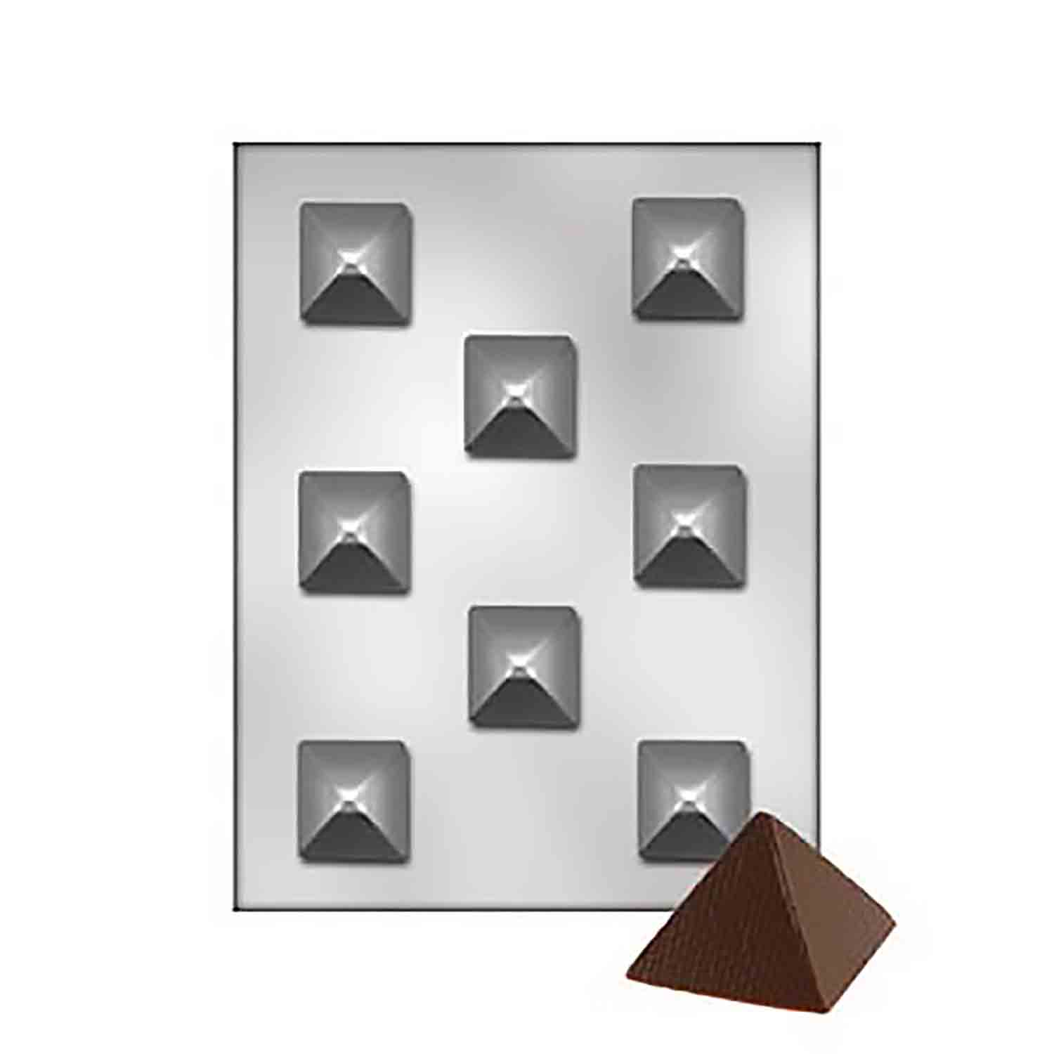 Pyramid Chocolate Candy Mold