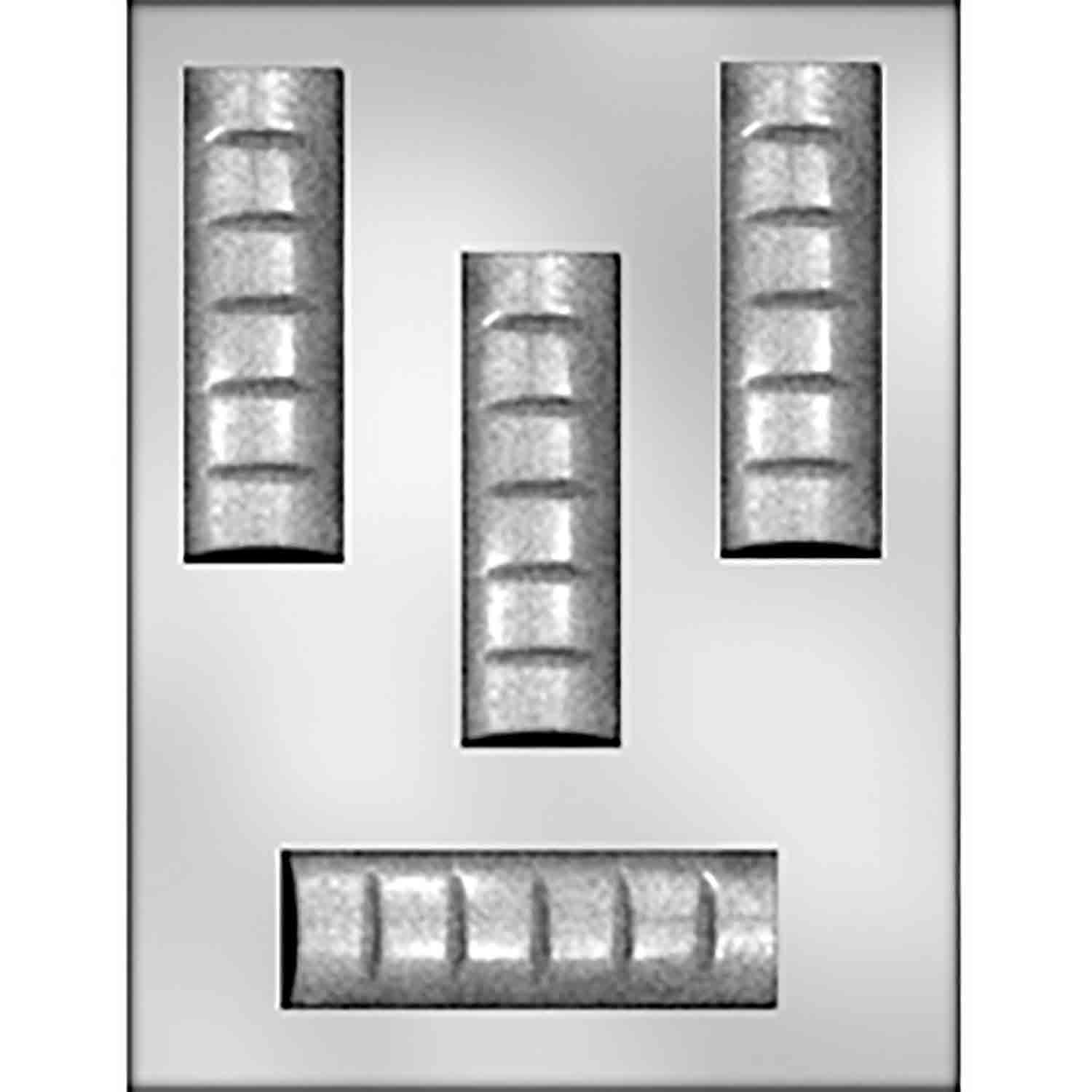 Thin Chocolate Bar Chocolate Candy Mold