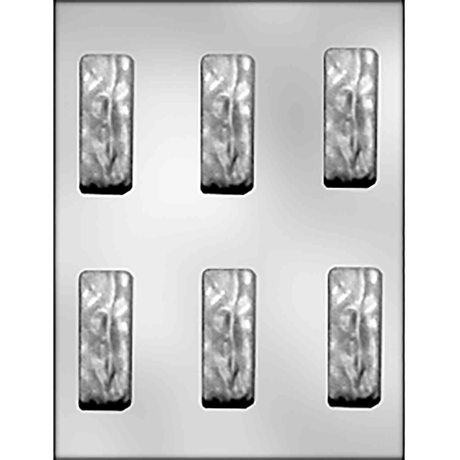 Thick Candy Bar Chocolate Candy Mold