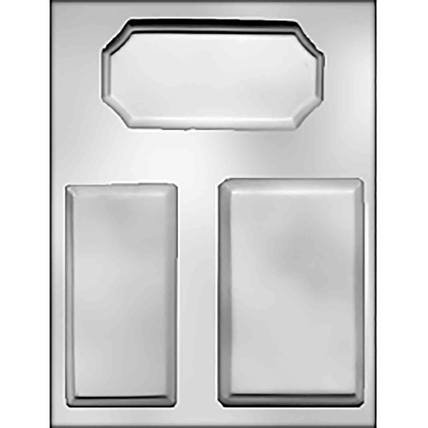 Rectangle Plaques Chocolate Candy Mold