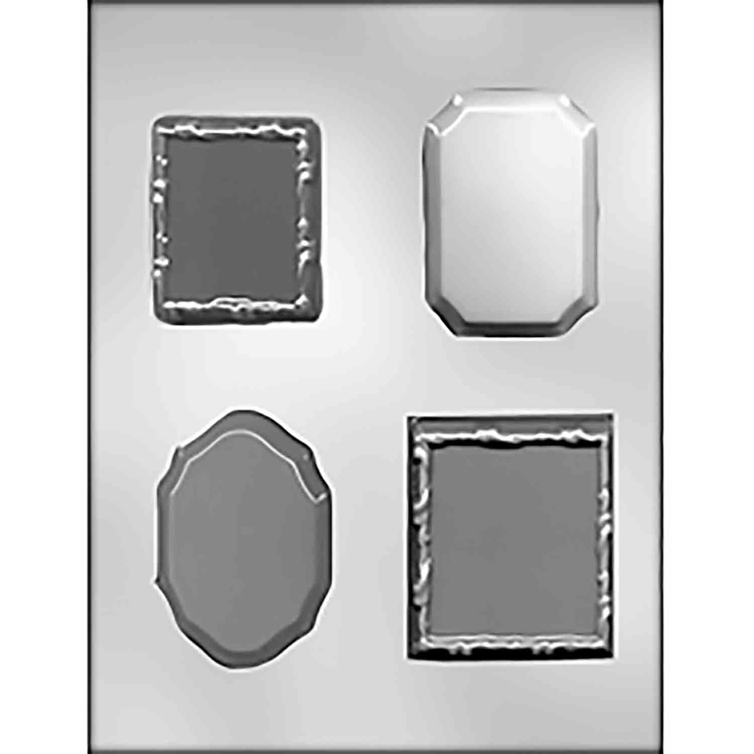 Bases/Frame/Plaques Chocolate Candy Mold