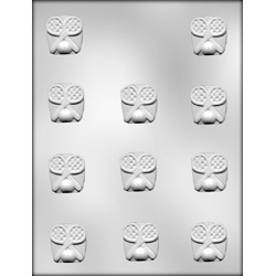 Tennis Rackets with Ball Chocolate Candy Mold