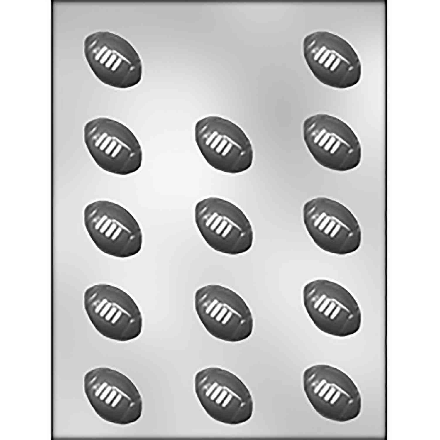 Football Chocolate Candy Mold
