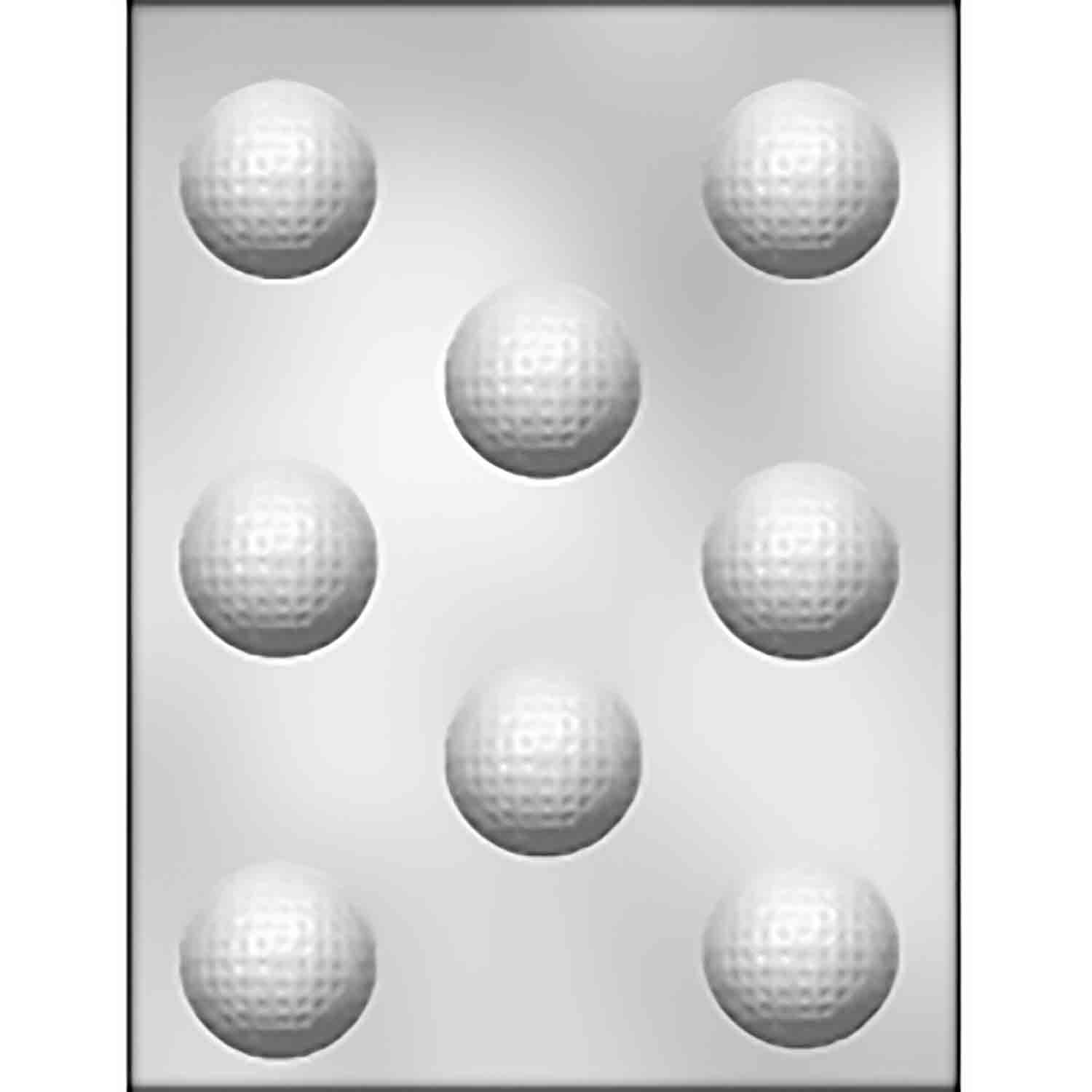 Golf Ball Chocolate Candy Mold