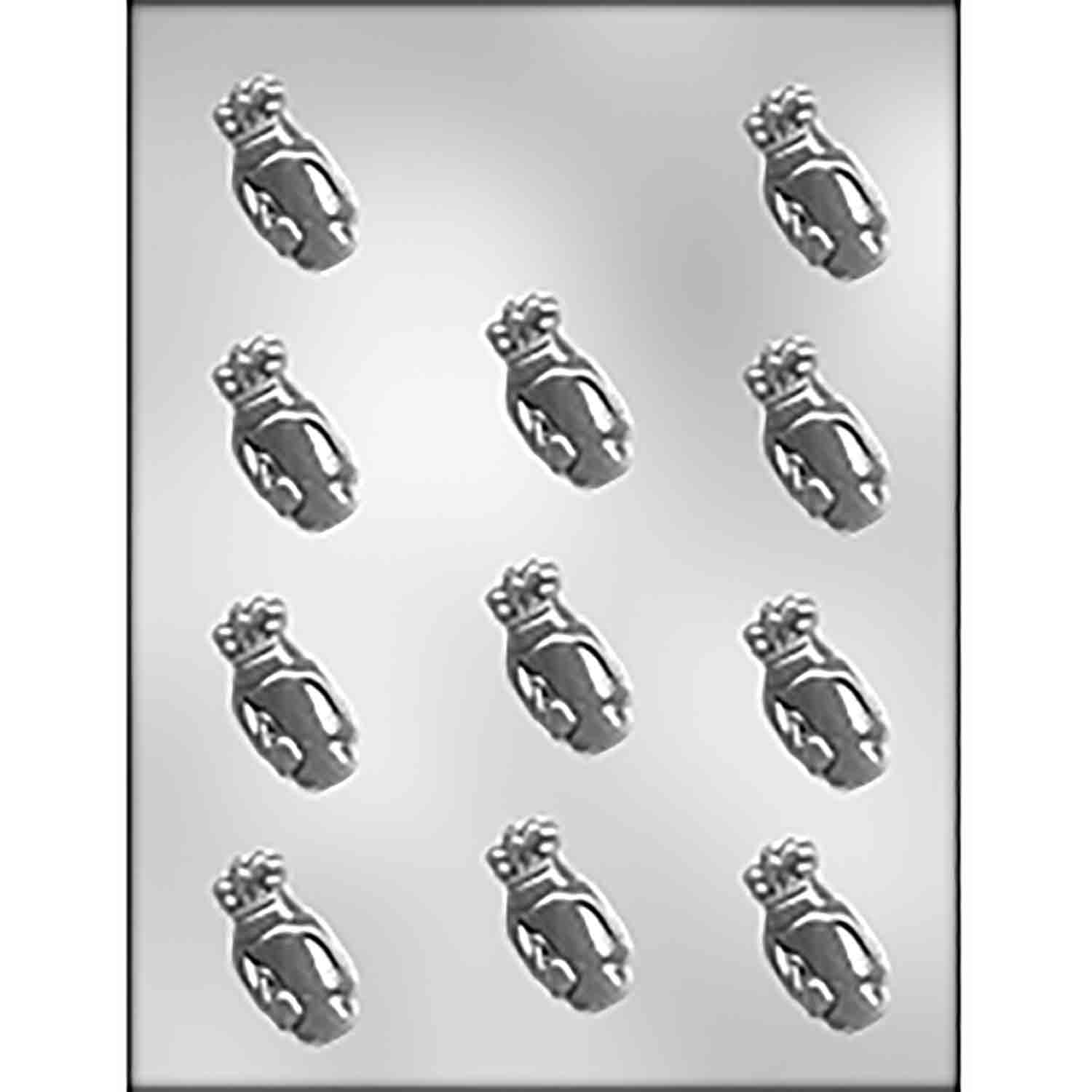 Golf Bag Chocolate Candy Mold