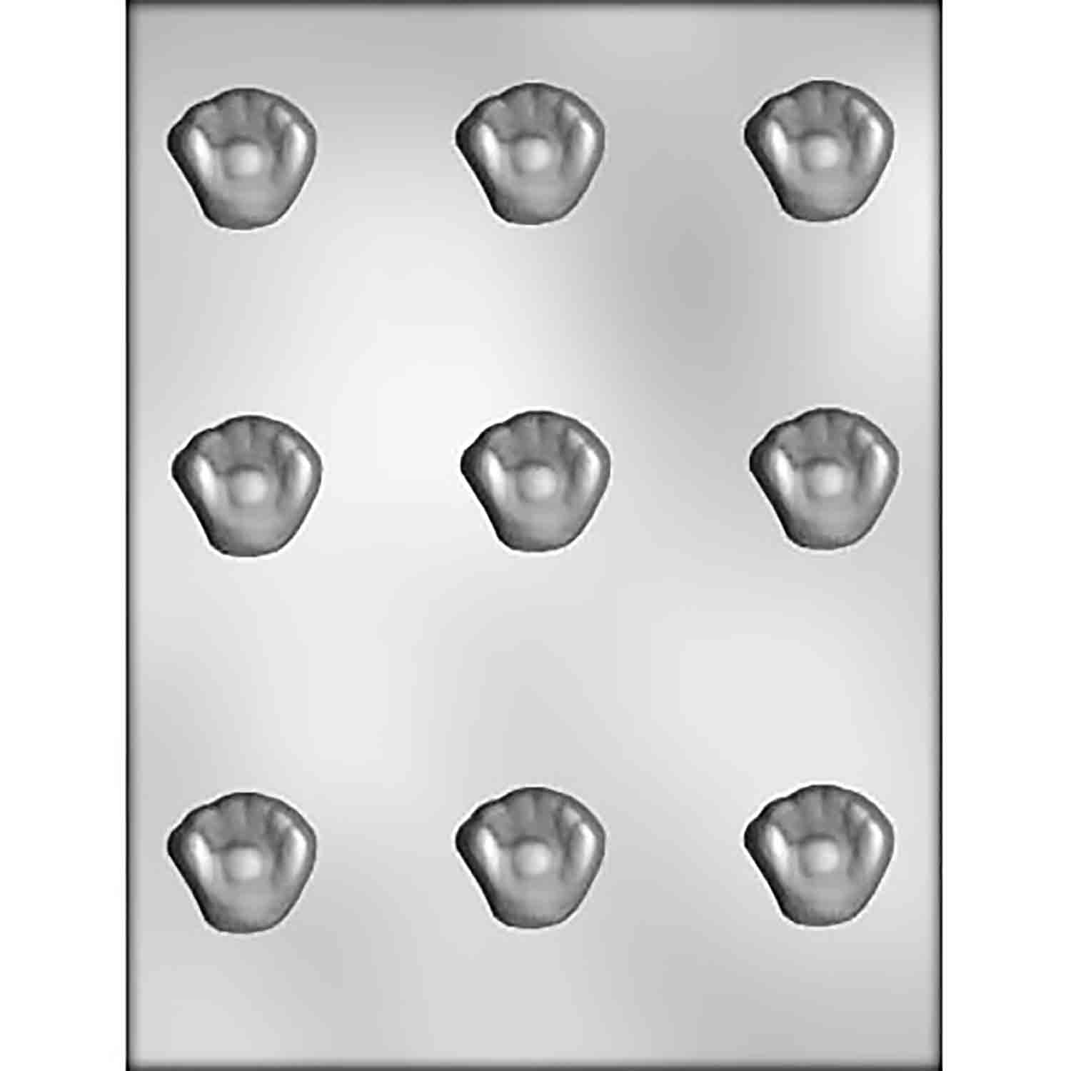 Baseball and Glove Chocolate Candy Mold