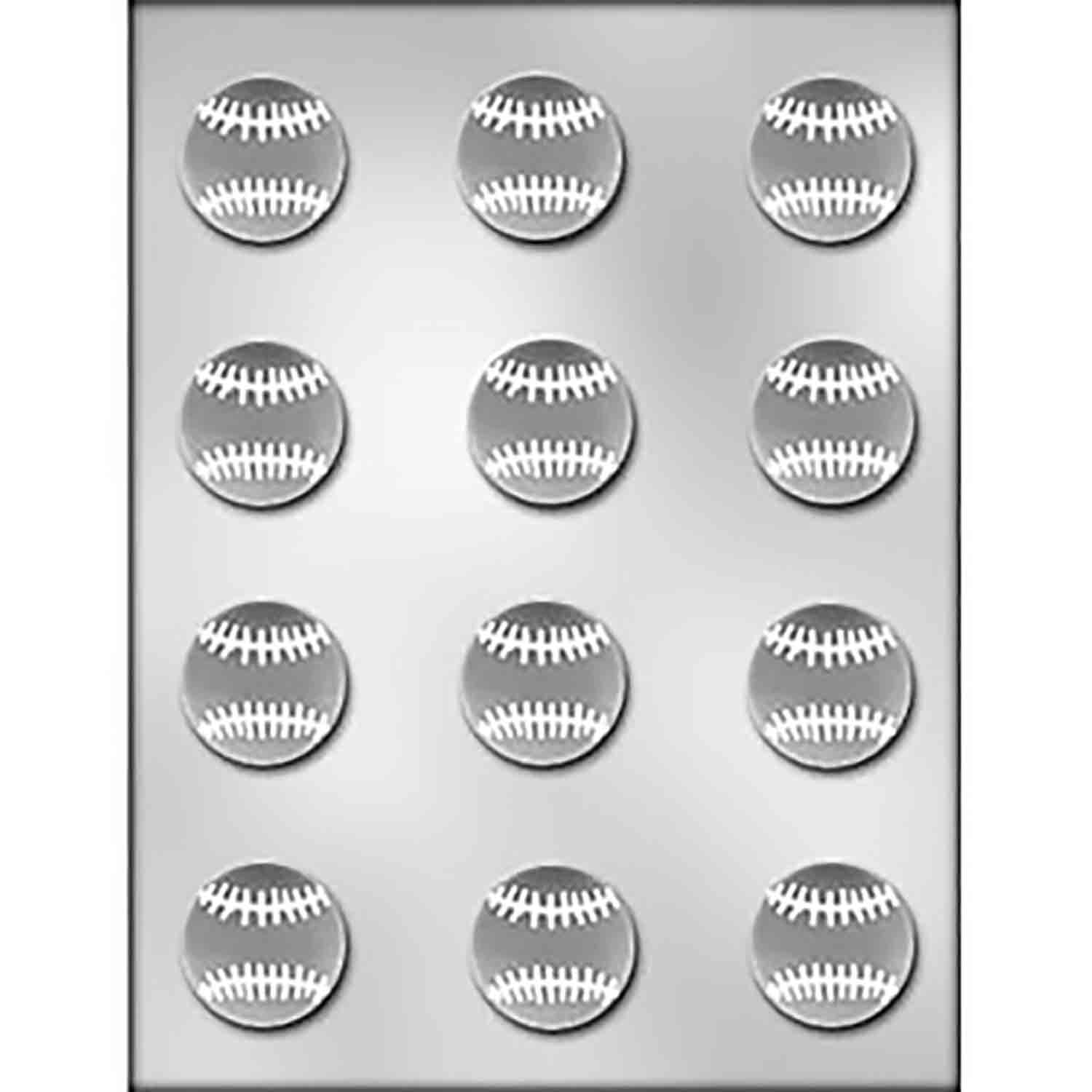 Softball Chocolate Candy Mold