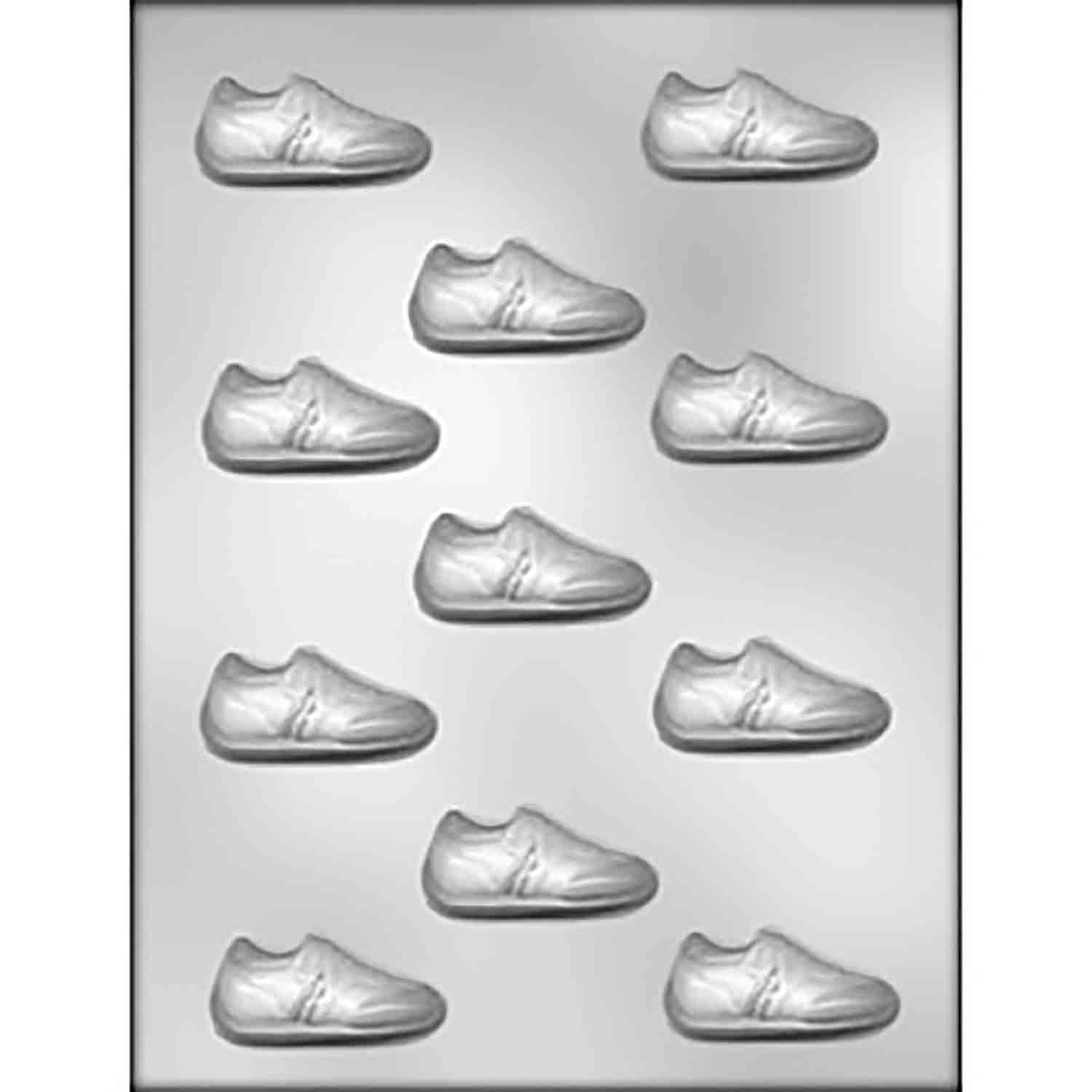 Jogging Shoe Chocolate Candy Mold
