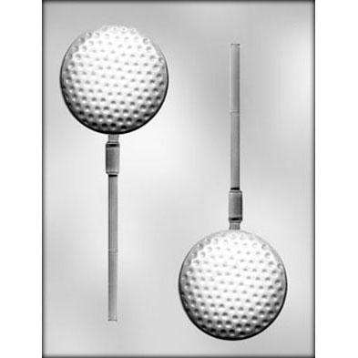 Golf Ball Sucker Chocolate Mold