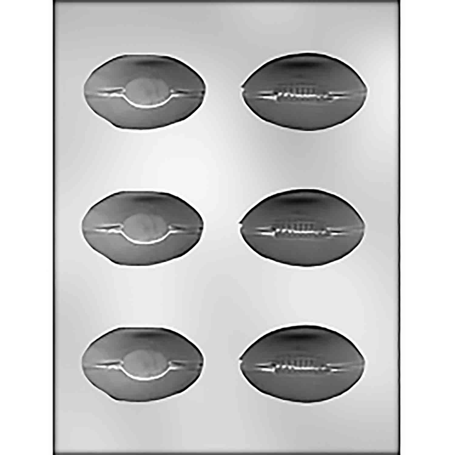 3D Football Chocolate Candy Mold