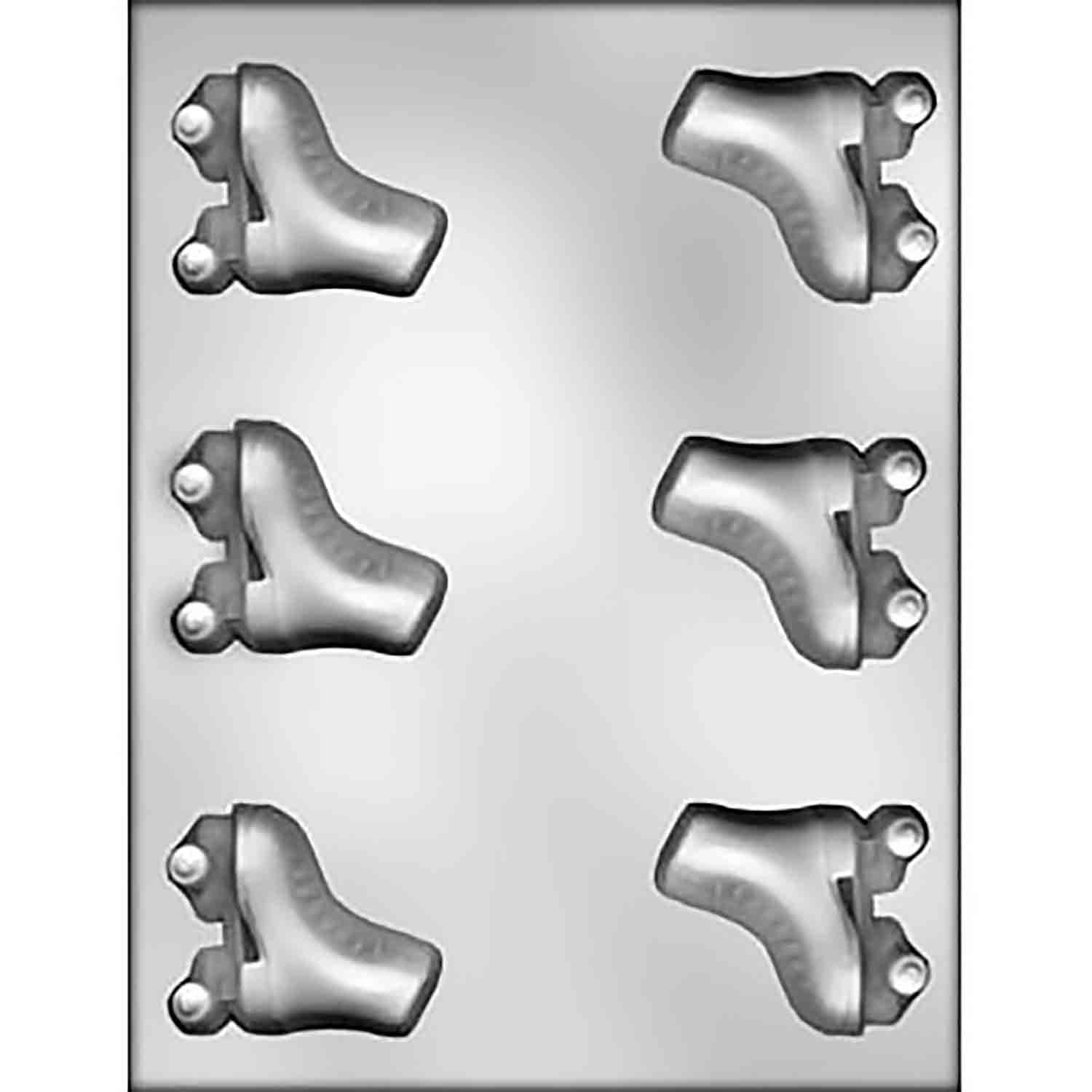 Roller Skates Chocolate Mold