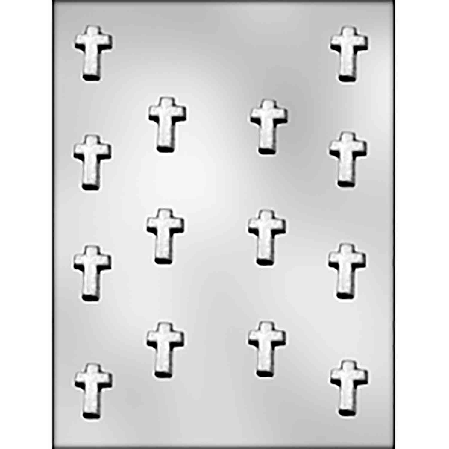 Small Cross Chocolate Candy Mold