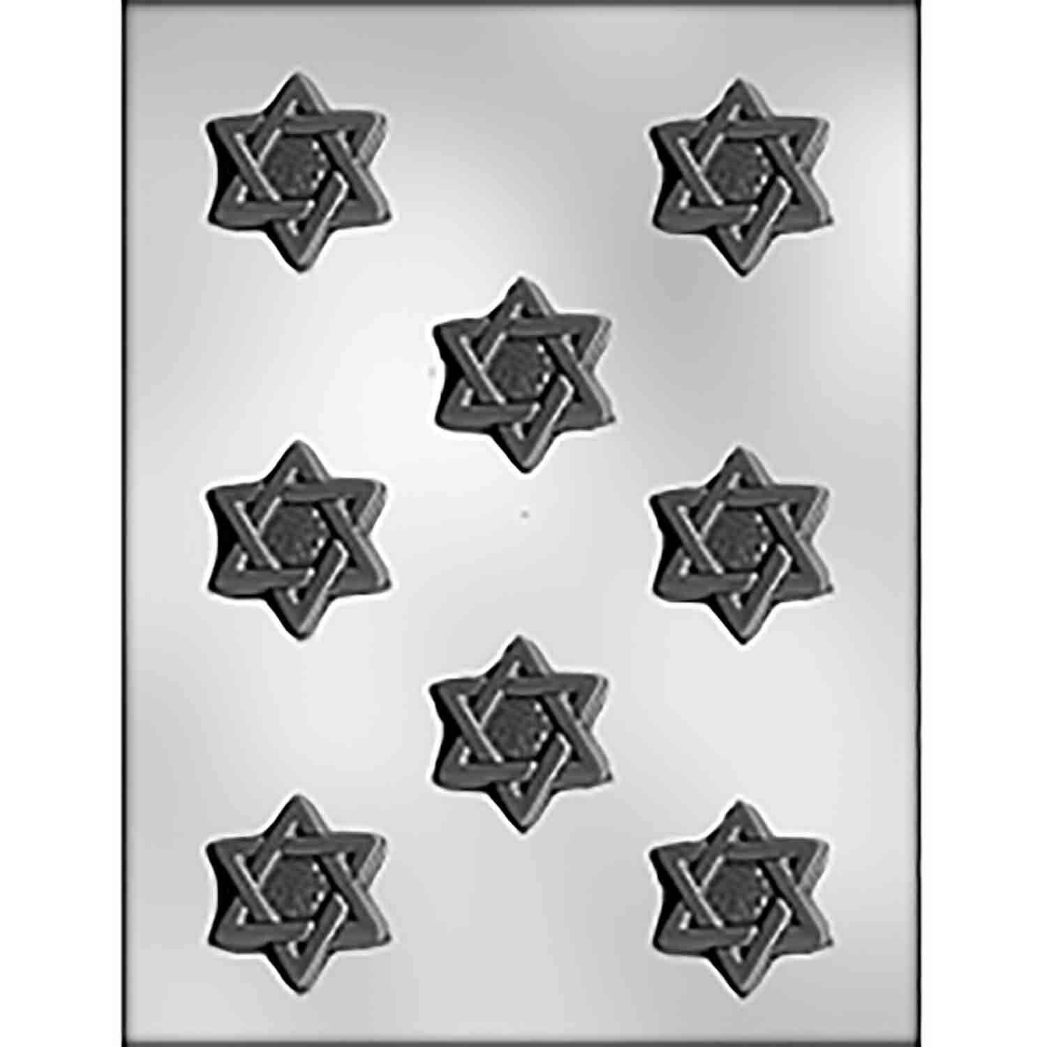 Star of David Chocolate Candy Mold
