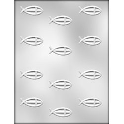 Religious Fish Mint Chocolate Candy Mold