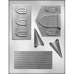 3D Church Chocolate Candy Mold