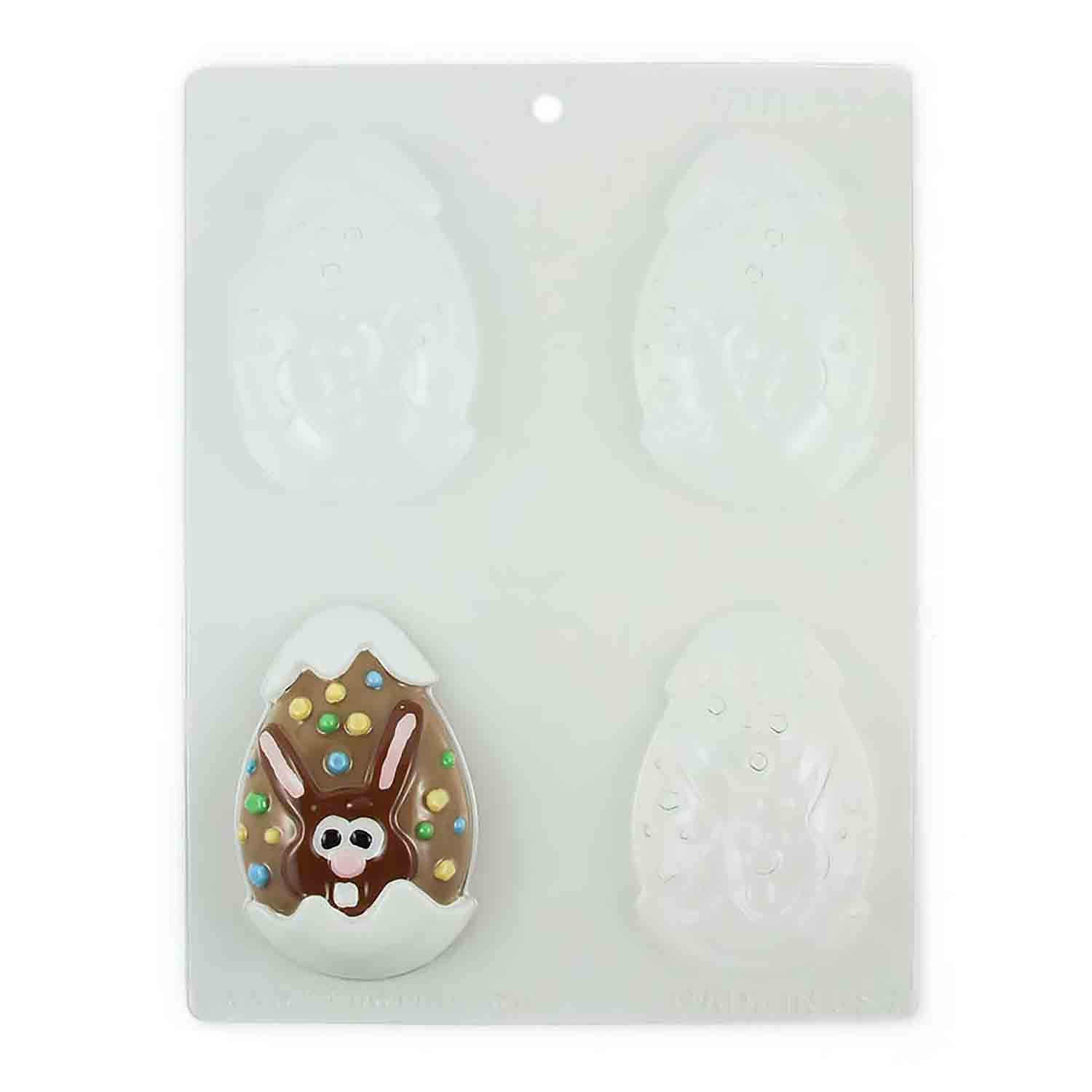 Bunny Egg Chocolate Candy Mold
