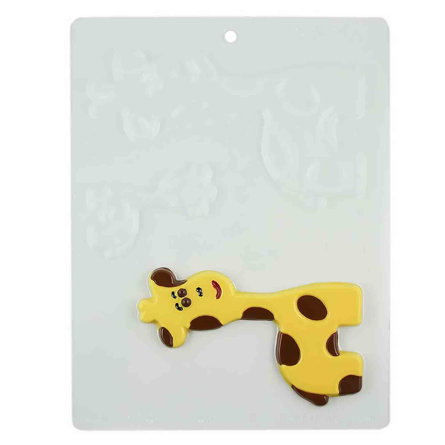 Giraffe Family Chocolate Candy Mold