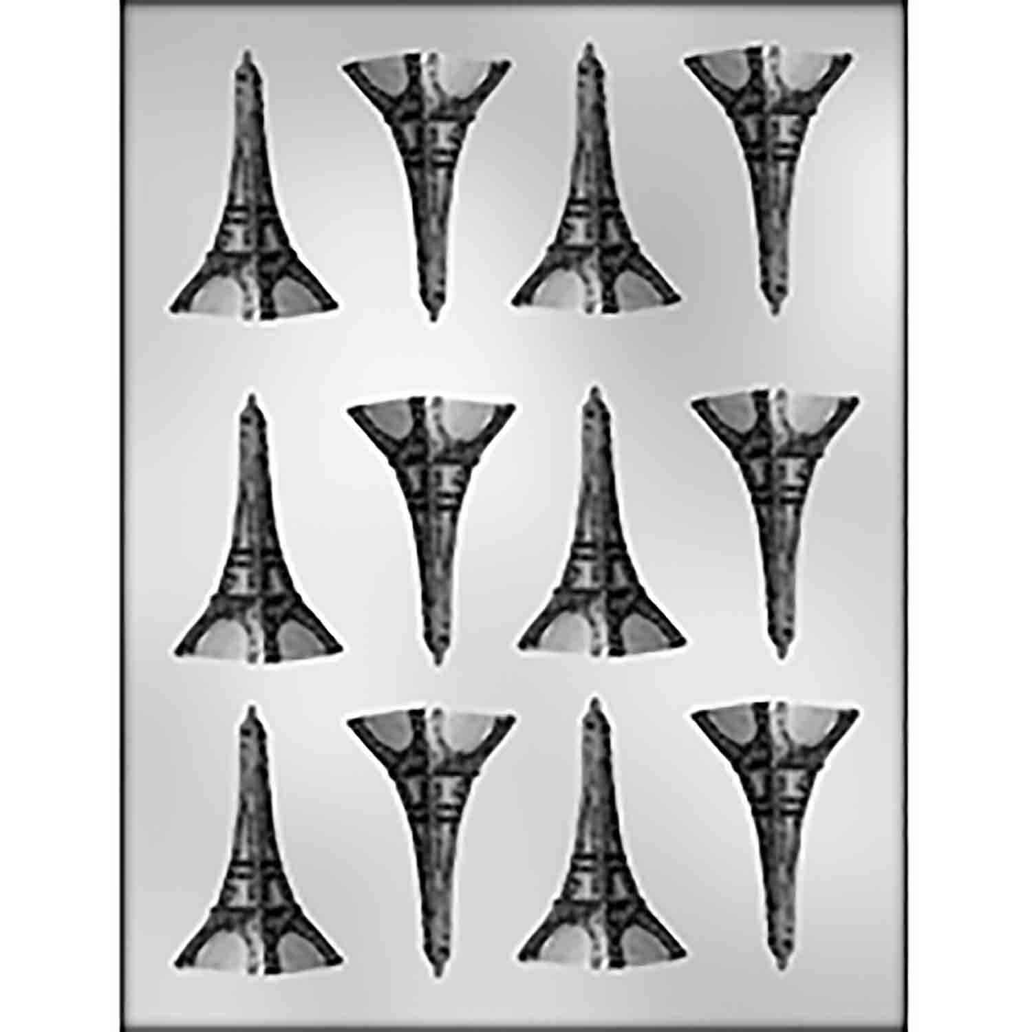 Small Eiffel Tower Chocolate Candy Mold