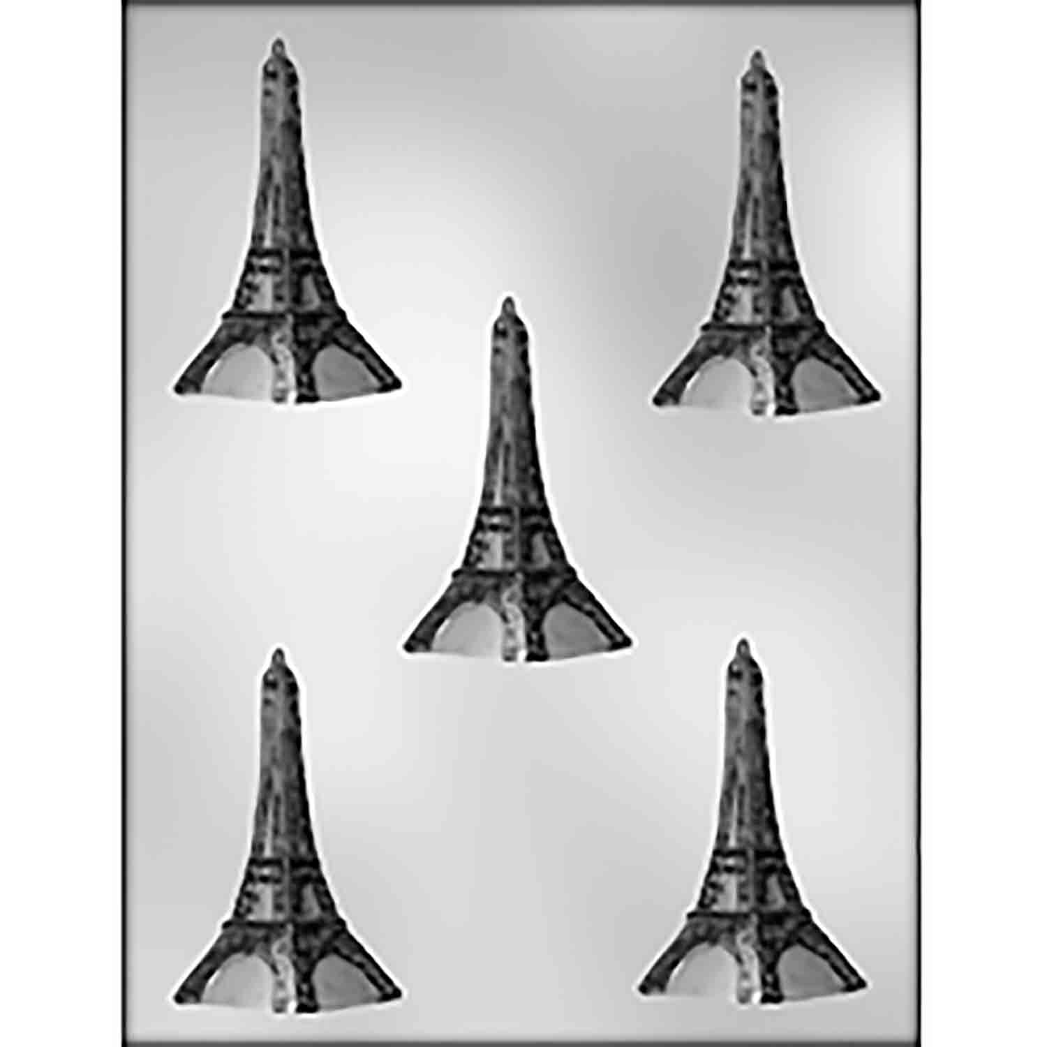 Medium Eiffel Tower Chocolate Candy Mold