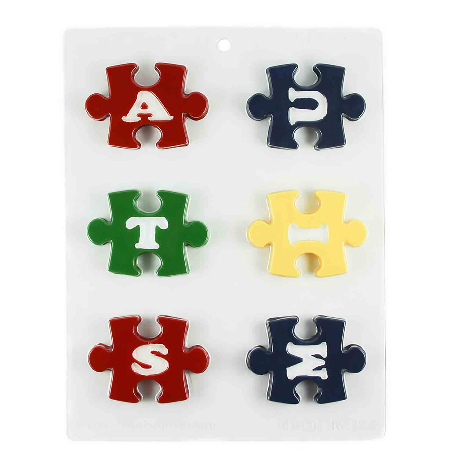 Autism Puzzle Pieces Chocolate Candy Mold