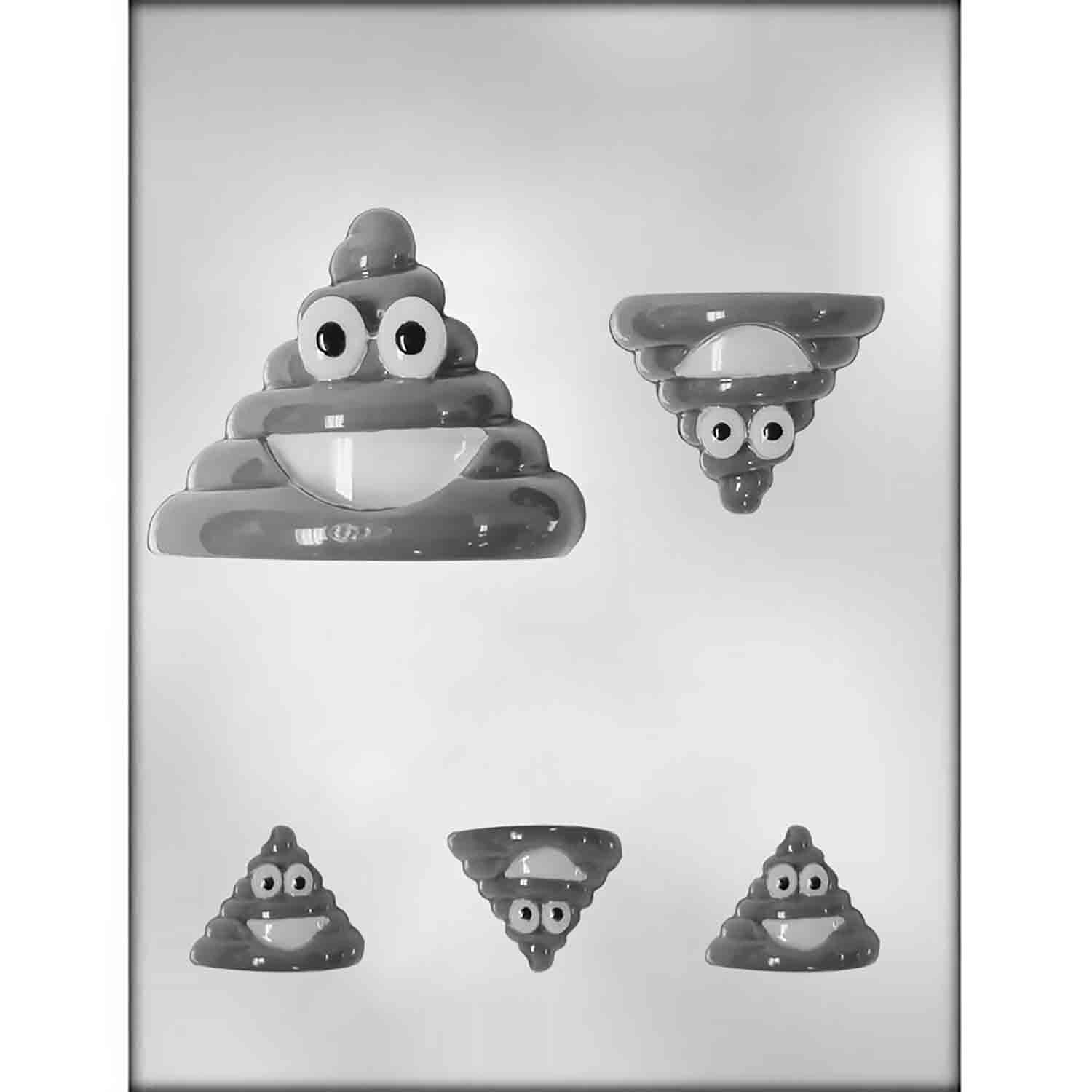 Poop Emoji Chocolate Candy Mold